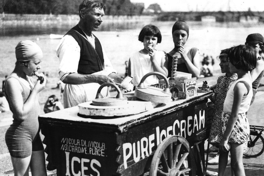 An image to show 12 cool facts about ice cream