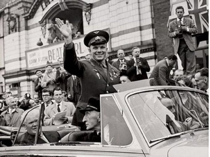 A picture illustrating Yuri Gagarin Facts