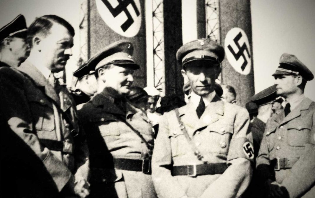 Hitler with his inner circle