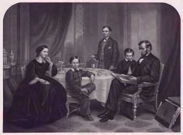 Lincoln Son willie and the family