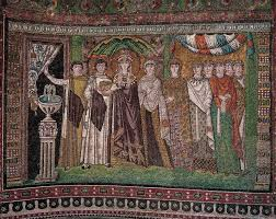 A painting from the Byzantine Empire