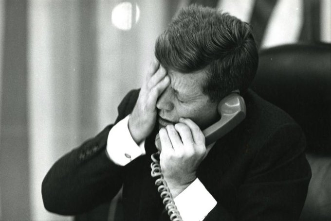 An image of President John F. Kennedy who rejected Operation Northwood