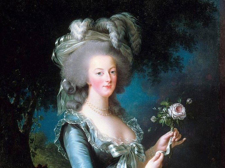 a painting of Marie Antoinette