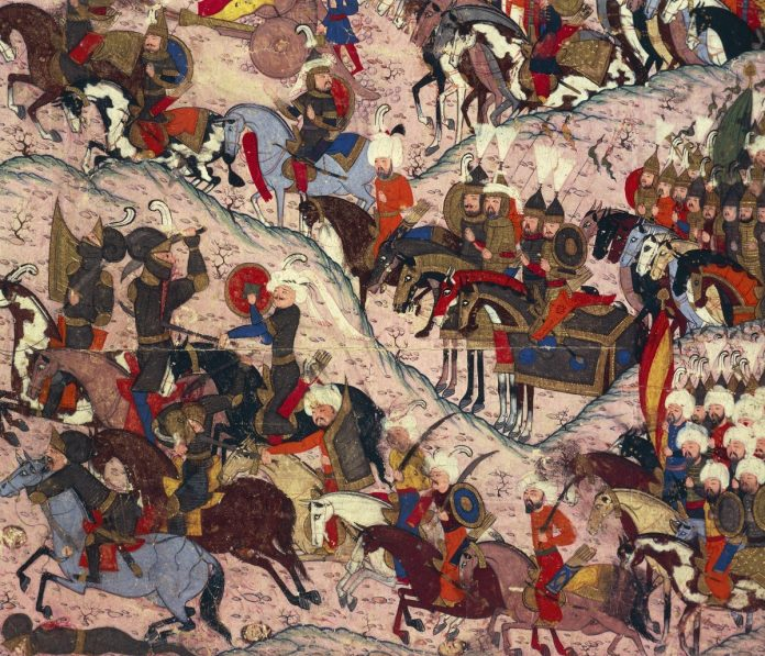 A painting from the Ottoman empire