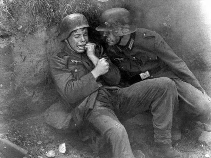 A click of German soldiers during WW2