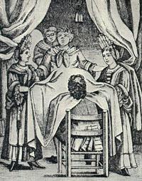 A sketch of Tudor women